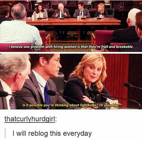 Parks and Recreation Leslie Knope Feminism Parks N Rec, Parks And Recreation, Parks And Rec Memes, Quotes Distance, Funny Memes, Hilarious, Faith In Humanity, Laugh Out Loud, The Funny