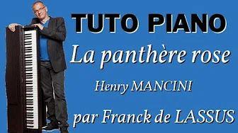 Apprenez à jouer au piano le célèbre morceau d'Henry MANCINI, la panthère rose.   #piano #tuto #tutopiano #apprendrelepiano #coursdepiano #videopiano #panthererose #pinkpanther