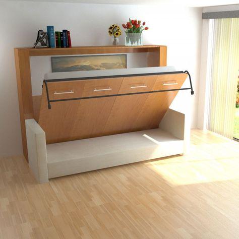 Horizontal Inline Murphy Bed And Inline Sofa Murphy Bed Hardware
