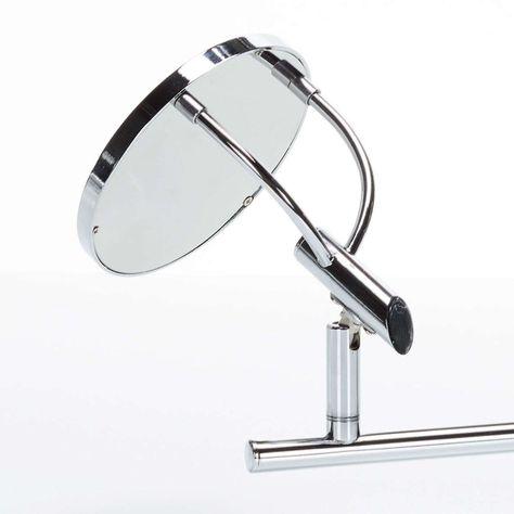 Spot Pour Plafond Led Jorne Chrome A 4 Lampes En 2020 Led Miroir De Table Et Lampe Led