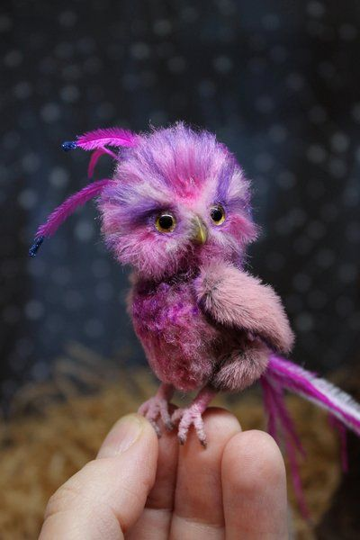 Magical bird Fwooper by Marina Blakytna | Birds | Art dolls
