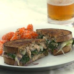 Vegetarian Reubens with Russian Dressing