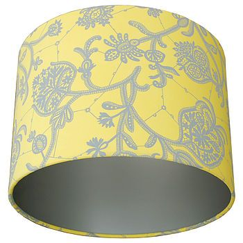 Lemon lamp shades home decorating ideas interior design amy butler souvenir lemon lampshade by quirk notonthehighstreet aloadofball Image collections
