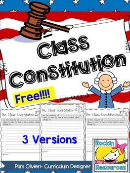 Class Constitution- Free!!!!!