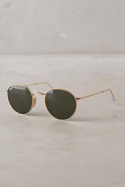 Ron Holt on | Ray ban round sunglasses, Round sunglasses