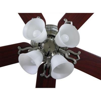 Iron Indoor Ceiling Fan Hampton Bay Carriage House 52 In Lighting ...