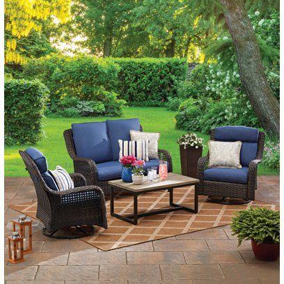 Wicker Patio Furniture Sets Walmart