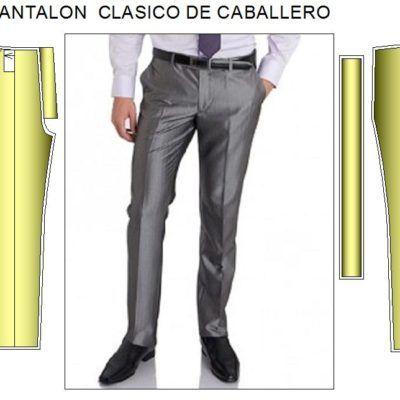Plantillas De Moldes De Pantalon Caballero En Formato Pdf Moldes De Pantalones Pantalones De Vestir Hombre Pantalones De Hombre
