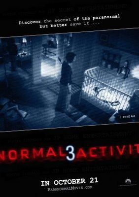 Paranormal Activity 3 Poster Id 707106 Paranormal Activity Paranormal Activity 3 Paranormal