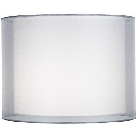 Sheer Shades Drum Lampshade Lamp Shade, Chandelier Lamp Shades Drum Shape