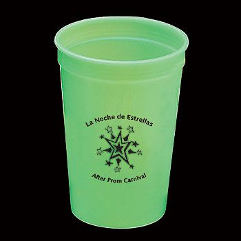 glow in the dark stadium cup