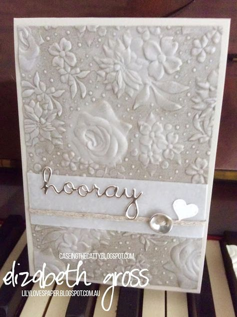 Country Floral Dynamic Textured Embossing Folder Stampin Up! 2019 Sale A Bration
