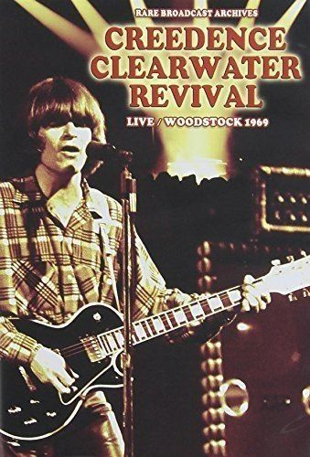 Creedence Clearwater Revival - Live/Woodstock 1969 Reino Unido DVD
