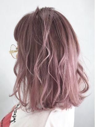 2020年冬 ピンクアッシュの髪型 ヘアアレンジ 人気順
