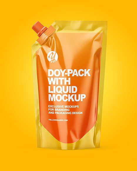 Download Liquid Pouch Mockup In 2020 Bottle Mockup Mockup Cosmetic Bottles PSD Mockup Templates