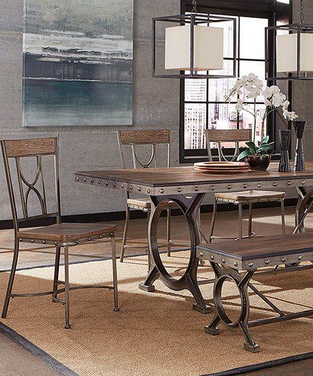 Paddock Six Piece Rectangular Dining Set | Zulily