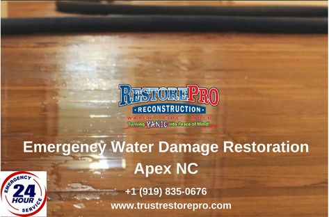 When Your Home In Apex Nc Experiences Water Damage From Ceiling Leaks Flooding Broken Pipes Sewer Lines Or For Any Other Reason Trust Repro