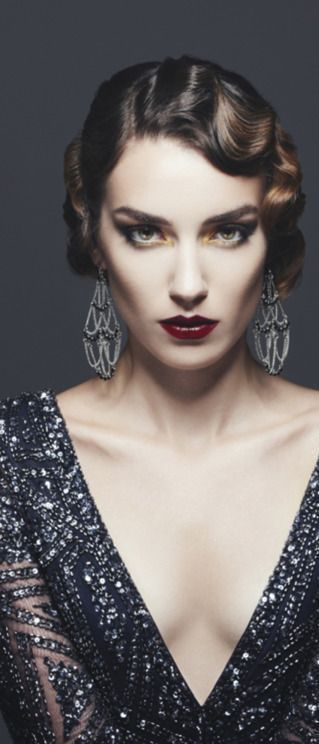 40 Great Gatsby Inspired Makeup Styles 45 Fiveno Gatsby Hair Vintage Wedding Hair Flapper Hair