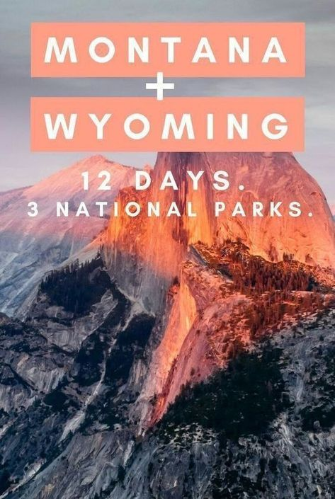 12 Day Itinerary to see 3 National Parks in Montana and Wyoming How to rock a trip to Montana and Wyoming. This itinerary will take you through three of the United State's most stunning naturescapes, including Yellowstone and Tetons National Park. Montana National Parks, Us National Parks, Oh The Places You'll Go, Places To Travel, Places To Visit, Travel Destinations, Bangkok, Vacation Spots, Vacation Ideas