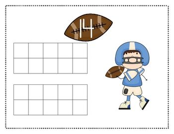 Super Bowl Ten Frame Mats 11-20 FREE