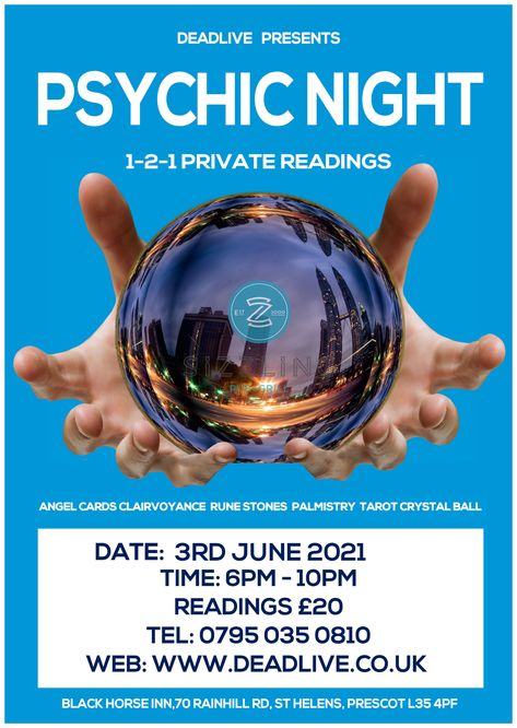 Psychic Night at The Black Horse Inn in Rainhill on the 3rd June 2021 where you can have a 121 reading with our psychics. #afterlife #psychicjames #psychicnight #psychic #spirituality #psychicreading #psychicreadings #psychictarot #psychicreader #angelsreadings #reikimaster #spiritguides #psychicmedium #psychicparties #mediumship #spiritualmedium #psychicadvisor #psychicentertainer #psychicentertainment #tarotreading #psychictherapist #psychicmediums #clairvoyance #healer #clairvoyants #spiri