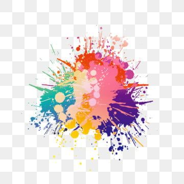 Colorful Ink Ink Splash Effect Elements Vector Colorful Ink Png And Vector With Transparent Background For Free Download Splash Effect Colorful Backgrounds Paint Splash