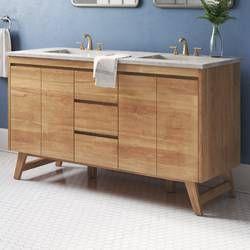 Fiona 60 Double Bathroom Vanity Base Only Double Vanity Bathroom Bathroom Vanities Without Tops Bathroom Vanity