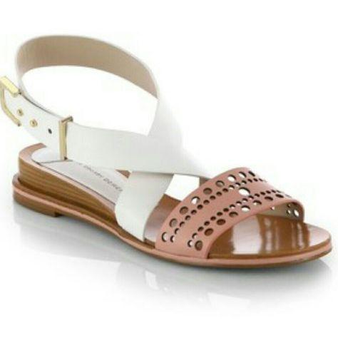 10 Crosby Derek Lam Demi Wedge In 2020 Derek Lam Shoes Leather Wedge Sandals Me Too Shoes