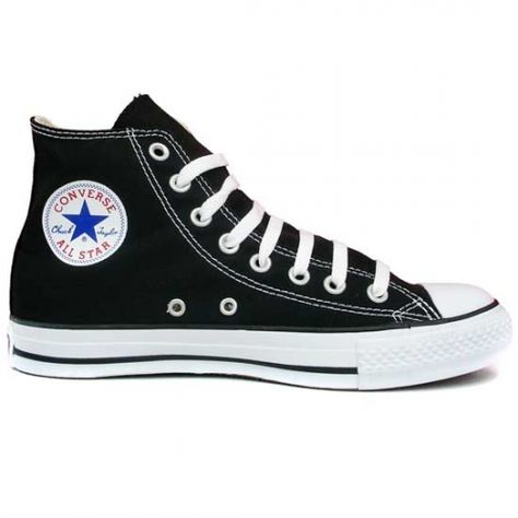Converse montantes All Star Hi Noir en promotion permanente ...