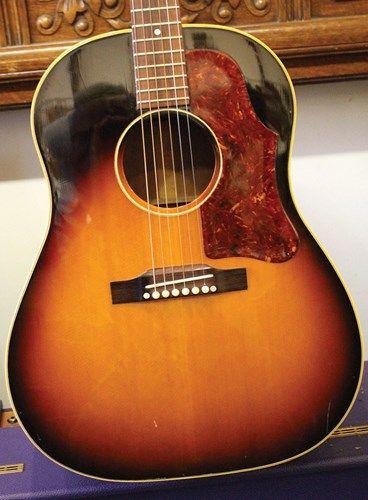 1957 Gibson J 45 Sunburst 2 795 00 Gibson Acoustic Gibson Guitars Guitar