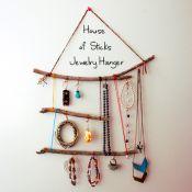 Stick Jewelry Hanger