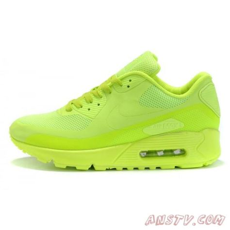 unique design running shoes get cheap Air Max Homme Nike Air Max 90 fluorescence verte (Couple ...