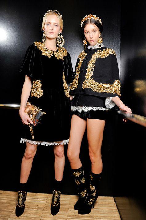 Dolce & Gabbana Fall 2012 Ready-to-Wear Fashion Show