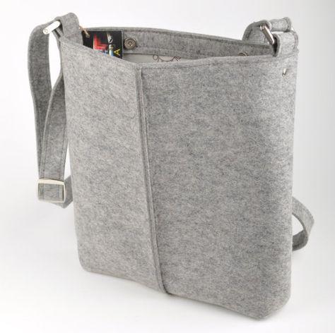 d3581012d4c36 Stabile Leinentasche aus Handgewebtem Leinen mit Lederboden. Geeignet für  den Einkauf