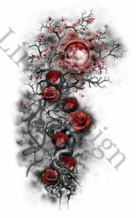 Trendy Tattoos, Cute Tattoos, Beautiful Tattoos, Body Art Tattoos, Sleeve Tattoos, Feminine Tattoos, Diy Tattoo, Tattoo Ideas, Tattoo Tree