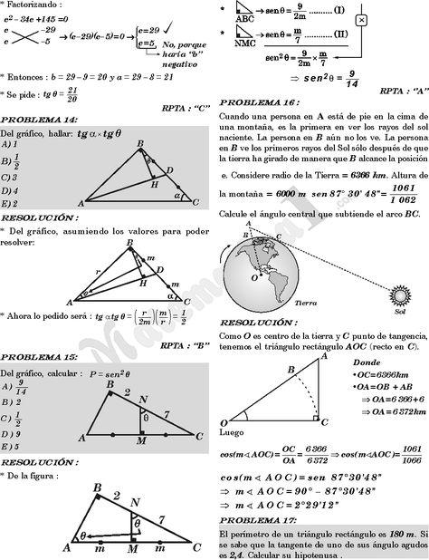 libro de trigonometria preuniversitaria nivel uni click aqui para ver |  MATEMATICAS | Pinterest | Math, Trigonometry and School