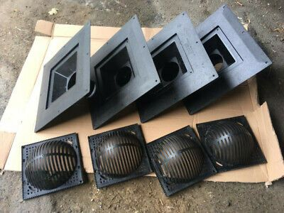 Ten Flat Roof Drains Tech Specialties Abs Roof Drains 4 Diameter Outlet Ebay In 2020 Roof Drain Flat Roof Drains