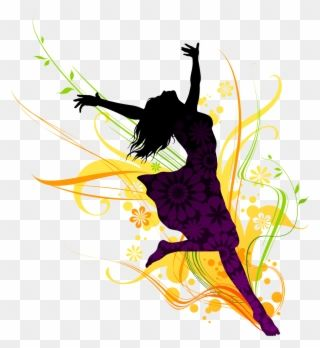 Modern Dance Clipart Dancing Girl Png Transparent Png Dancing Clipart Clip Art Girl Clipart