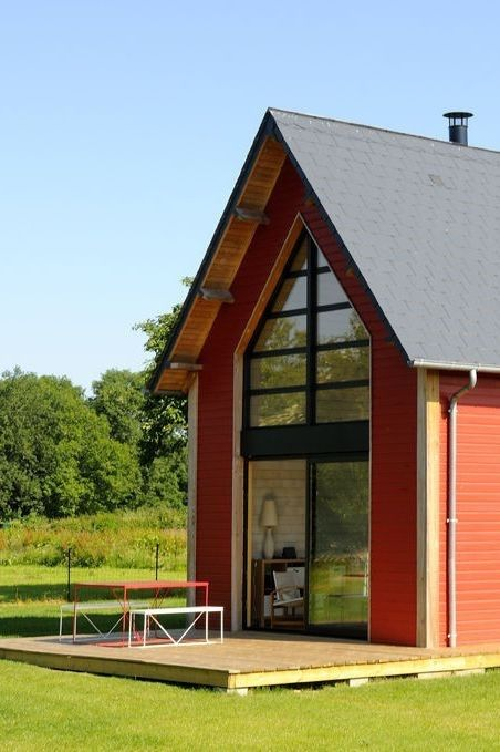 Prefab Small Homes Small Holiday Home In Normandy France By