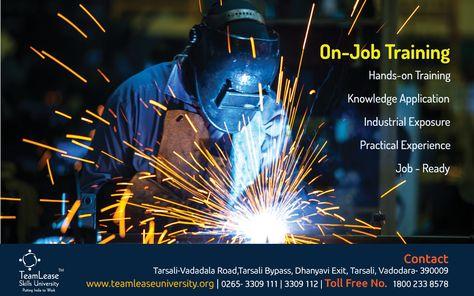 On Job Training wwwteamleaseuniversityorg wwwfacebook - aerospace engineer resume sample