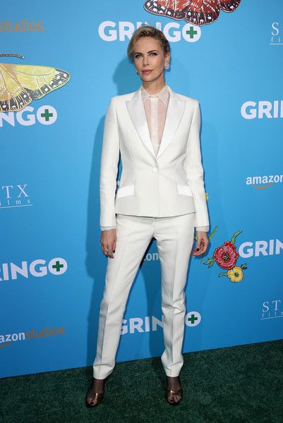 Producer Charlize Theron attends the world premiere of 'Gringo' from Amazon Studios and STX Films.