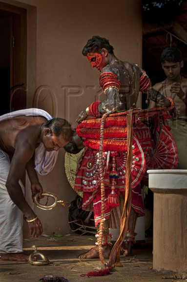 Theyyam in Transition ~ a dancer from the Malabar Coast in south