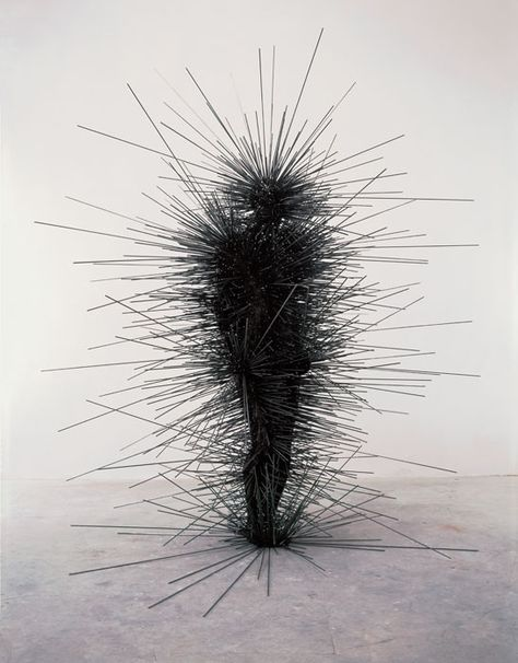 Antony Gormley  CAPACITOR, 2001  this is perfect for those 'i don't feel like a hug today' mornings.