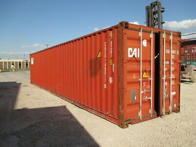 Ad Ebay Used Shipping Storage Containers 40ft Wwt Savannah Ga 1700 In 2020 Shipping Containers For Sale Storage Containers Containers For Sale