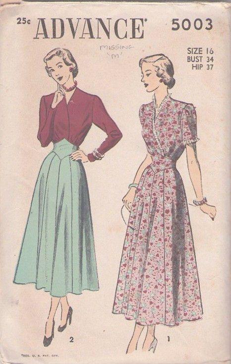 Lark Ro Womens Stretch Sleeve Pattern Fashion Vintage Dress Patterns Vintage Sewing Patterns