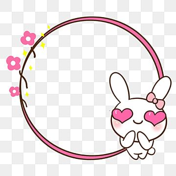 Cartoon Border Hand Painted Border Cute Border Rabbit Border Cute Rabbit Cartoon Rabbit Pink Border Png Transparent Clipart Image And Psd File For Free Downl In 2021 Cute Borders Cute Background