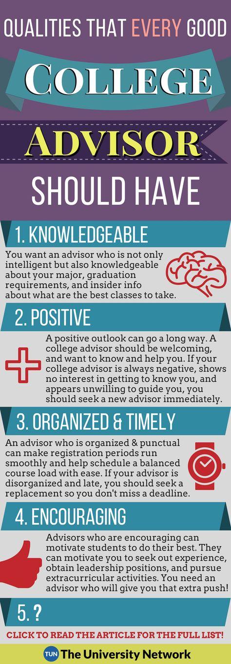 5 Qualities of Good College Advisors | The University Network