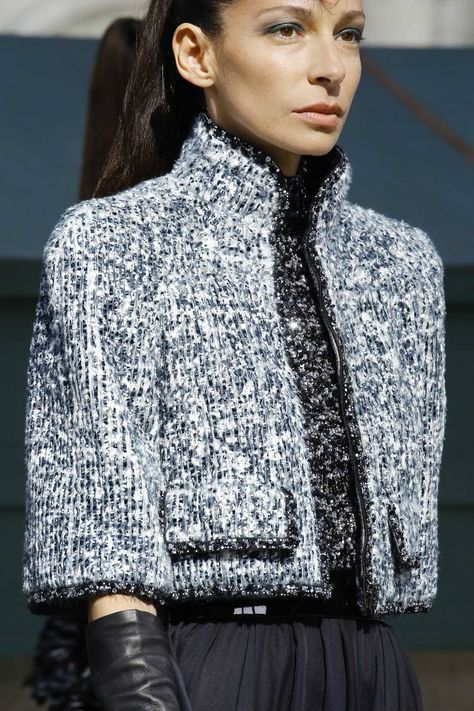 Chanel Autumn/Winter 2018 Couture - Chanel Cardigan - Ideas of Chanel Cardigan - Chanel Autumn/Winter 2018 Couture