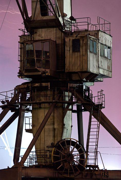 The work of conceptual artist Branislav Kropilak. Abandoned Buildings, Abandoned Places, Unusual Buildings, Abandoned Homes, Vintage Industrial, Industrial Design, Bg Design, Industrial Machinery, Industrial Architecture
