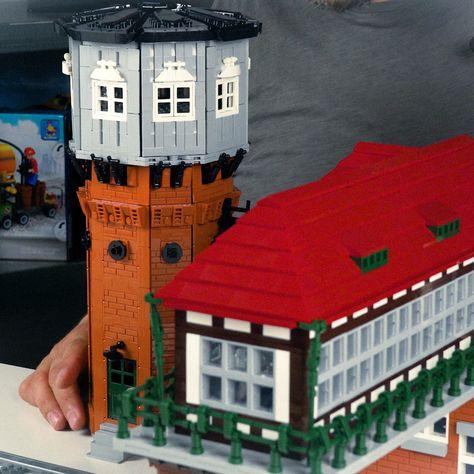 Wasserturm Lego House Cool Lego Water Tower